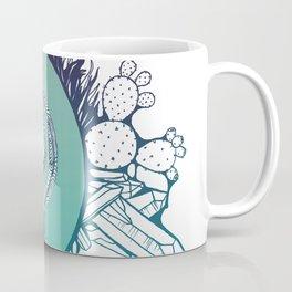 Snake Spirit (Turquoise) Coffee Mug