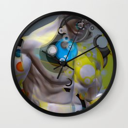 gather yourself Wall Clock