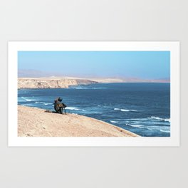 Paracas Reserve Art Print