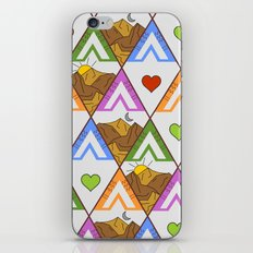 Backpacking nature #pattern iPhone Skin