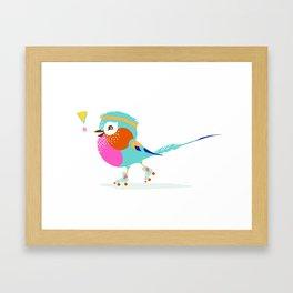 Lilac Roller Framed Art Print