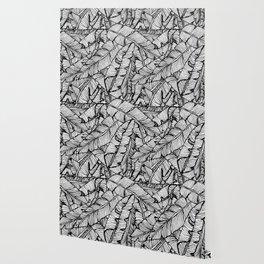 Black & White Jungle #society6 #decor #buyart Wallpaper