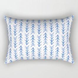 Watercolour Arrow Pattern Rectangular Pillow