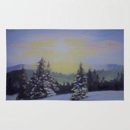 Winter Sunrise Rug