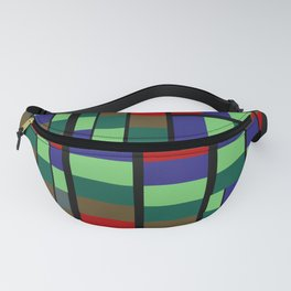 Mid-Century Modern Abstract Pattern #1 Rectilinear Fanny Pack