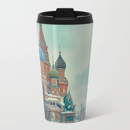 Cathedral of Vasily the Blessed Travel Mug