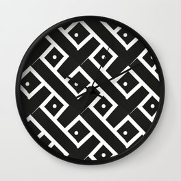Mazes Wall Clock