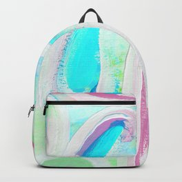 Abstract Neon Green Study Backpack