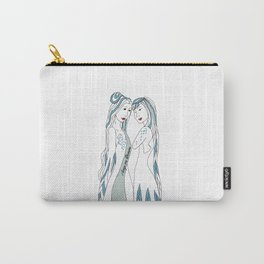Gemini / 12 Signs of the Zodiac Carry-All Pouch