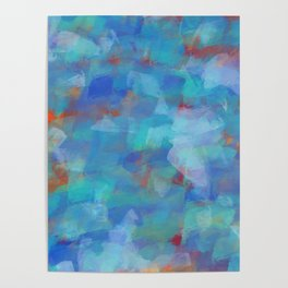 Paint Strokes Two Poster