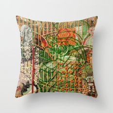 The Interlocking Mechanism of Compartmentalization (2) Throw Pillow