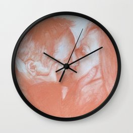 The Truth kiss Wall Clock