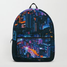 Cityscape Night View Backpack