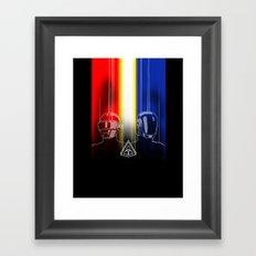 Daft Punk: The Daft Frontier Framed Art Print