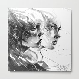 Extrusion  Metal Print