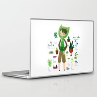 plants Laptop & iPad Skins featuring Plants by Zennore