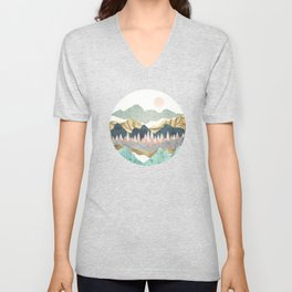 Summer Vista Unisex V-Neck