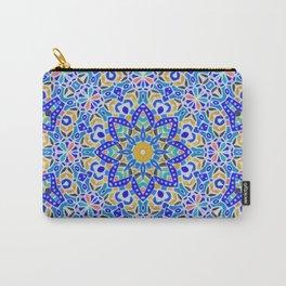 Arabesque kaleidoscopic Mosaic G512 Carry-All Pouch