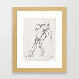 Sketch #9 Framed Art Print