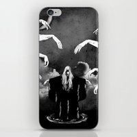 witchcraft iPhone & iPod Skins featuring Witchcraft by Merwizaur