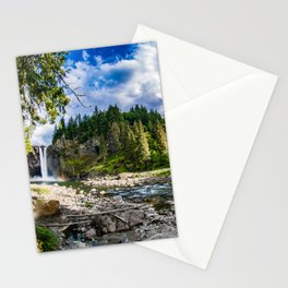 Snoqualmie Falls from Below Stationery Cards