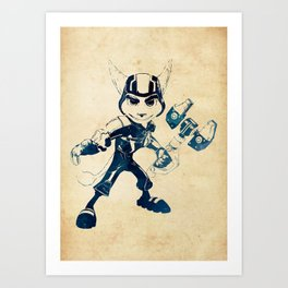Ratchet Art Print