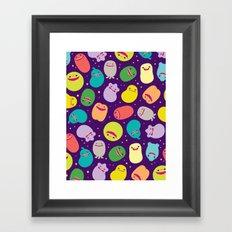 Germusu Germy Repeat Framed Art Print