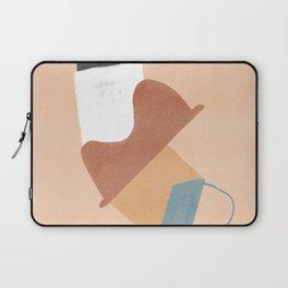 Unstable column - simple shapes minimalist design Laptop Sleeve