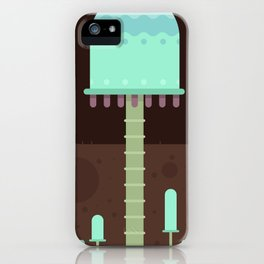 Mushrooms exploration iPhone Case