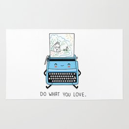 Do what you love Rug