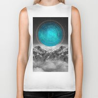 not all those who wander are lost Biker Tanks featuring Not All Those Who Wander by soaring anchor designs