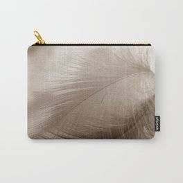 The feather hovers over the clouds Carry-All Pouch