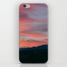 Sunset in the desert iPhone Skin
