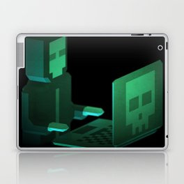 Hacker low-poly 3D artwork Laptop & iPad Skin