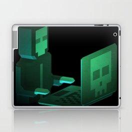 Hacker low-poly 3D artwork Laptop & iPad Skin