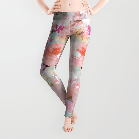 Love of a Flower Leggings