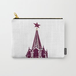 Kremlin Chimes-red Carry-All Pouch