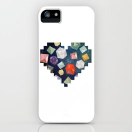 Heart of Dice iPhone Case