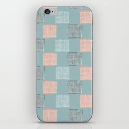 Vintage Grid iPhone Skin