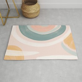 Pastel Abstract Combo 1 Rug