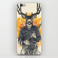 hunting iPhone & iPod Skins featuring Hunting Season by Niel Quisaba