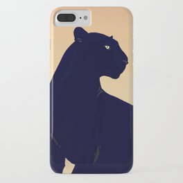 Sunset Black Panther iPhone Case