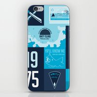 jaws iPhone & iPod Skins featuring Jaws! by tim weakland