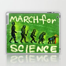 March For Science Laptop & iPad Skin