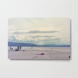 Plage / Beach Metal Print