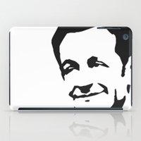 nicolas cage iPad Cases featuring Nicolas SARKOZI by b & c