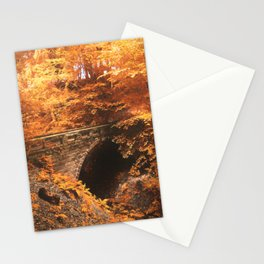 Golden Crossing Stationery Cards