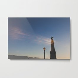 Astronomers Monument Metal Print