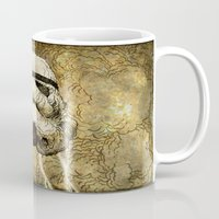 storm Mugs featuring Storm by Eric Fan