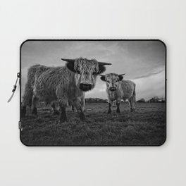 Two Shaggy Cows Laptop Sleeve
